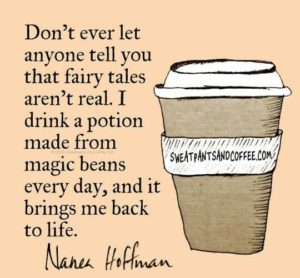 Coffee is magic beans